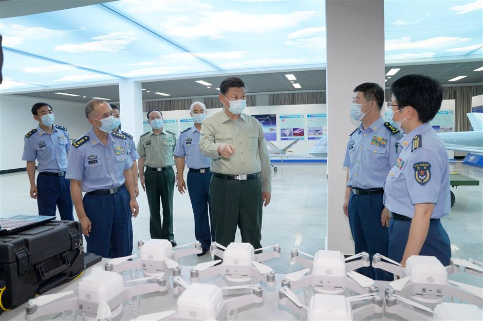 Xi stresses innovation, reform of armed forces