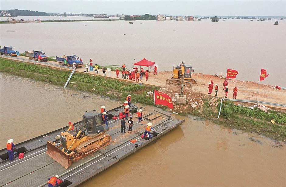 Besides sandbags, new technologies bolster flood control