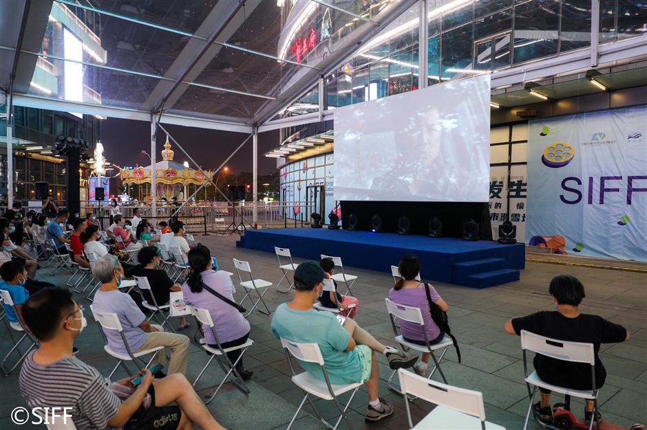 Film festival focus turns to outdoor screenings