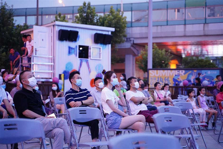 Film festival screens outdoor movies amid COVID-19