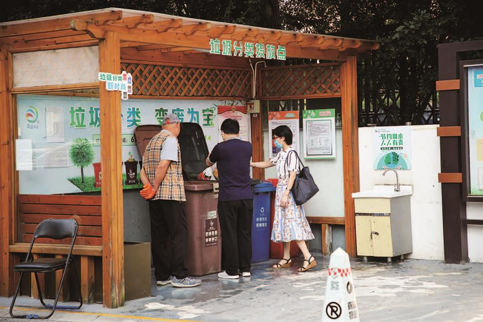 Everything is sorted with district's garbage