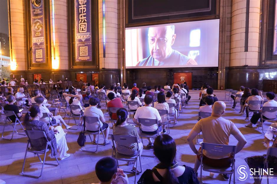 Outdoor film festival fills a gap for local movie buffs