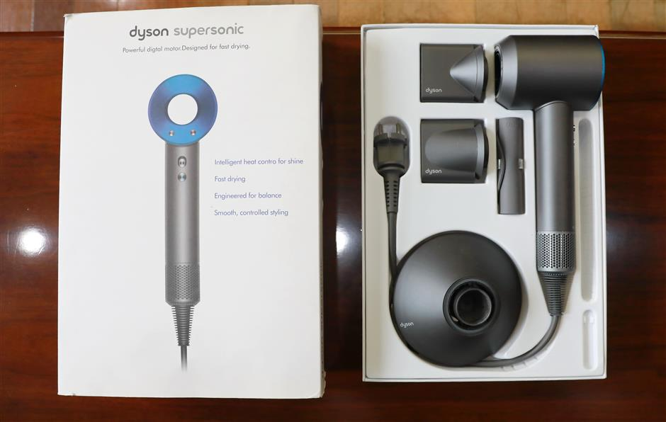 Four sentenced for selling counterfeit Dyson hair dryers