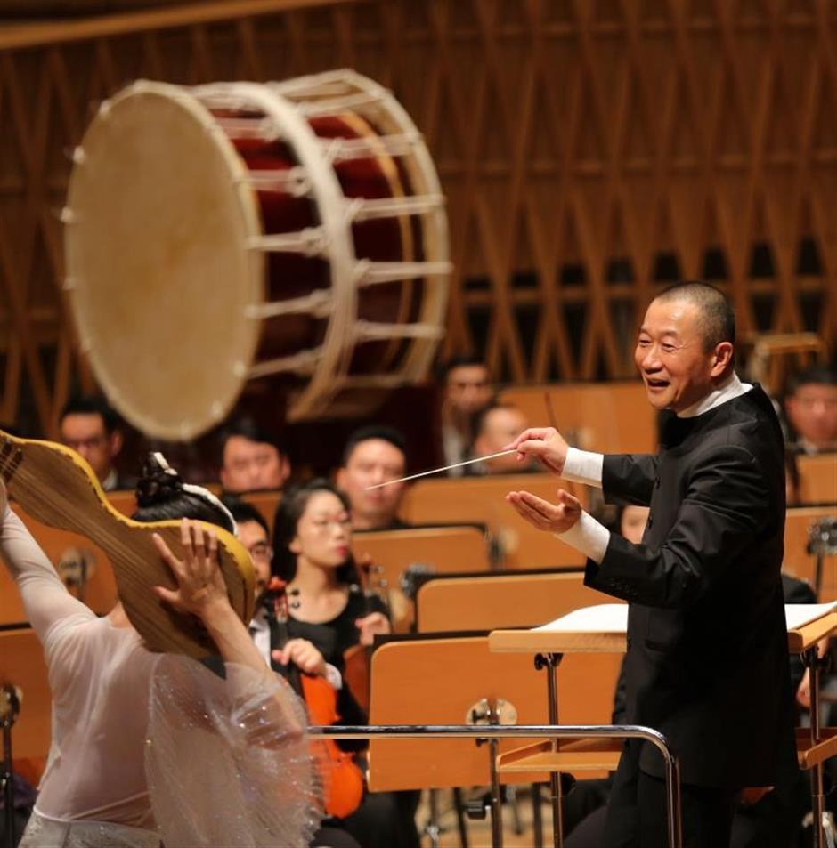Morphing Dunhuang cave murals into music