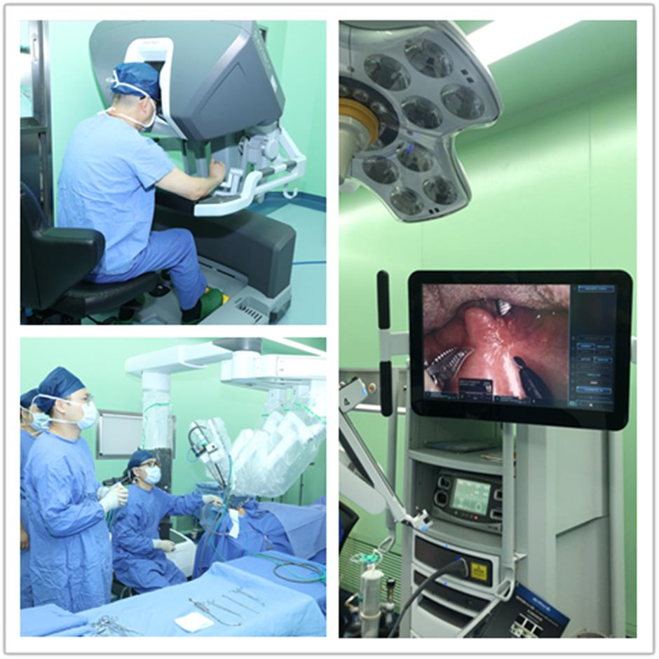Better result for patients thanks to robot-assisted surgery