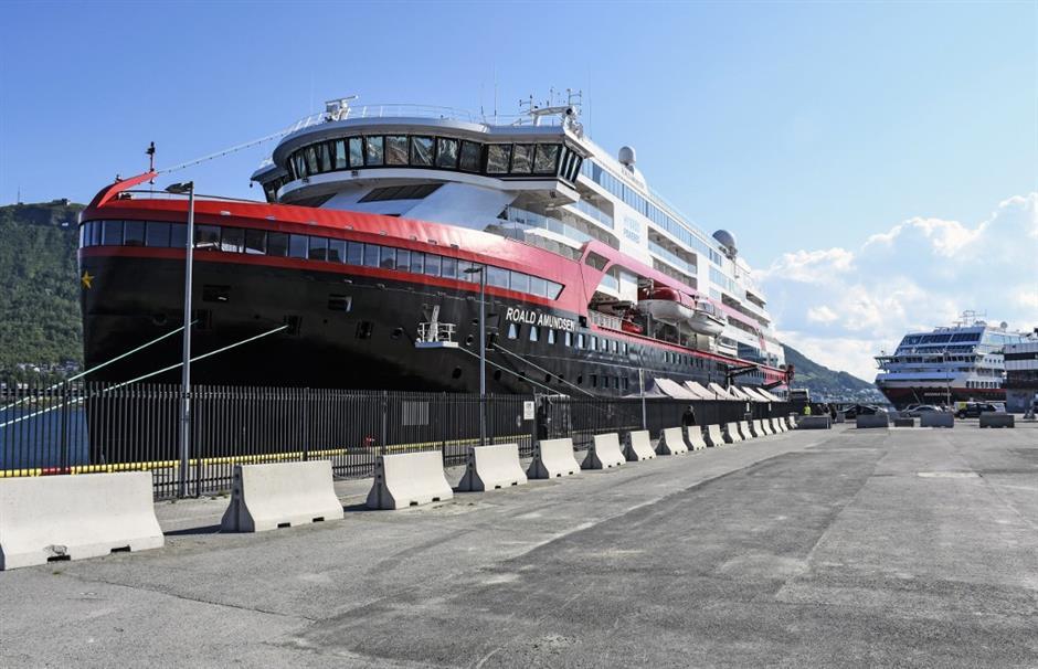 33 crew test positive for virus on Norwegian cruise ship