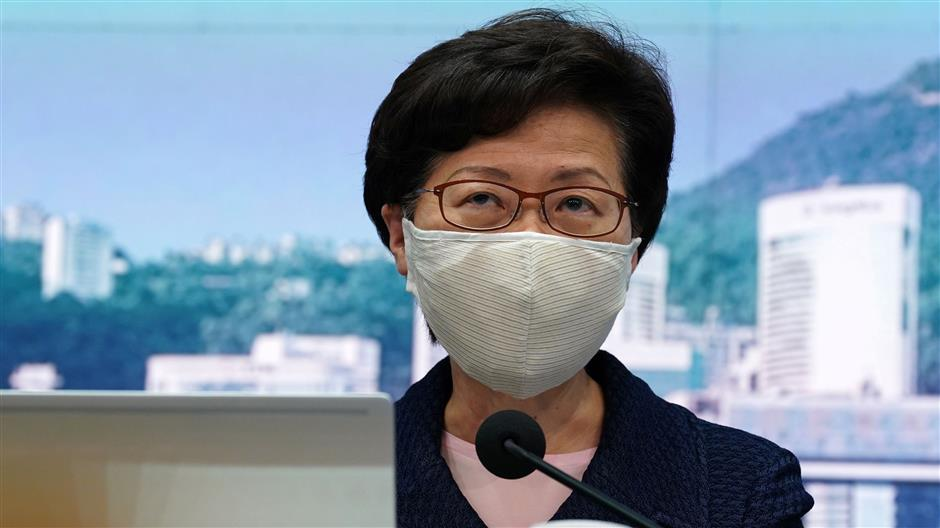Carrie Lam defends election delay, says no political considerations