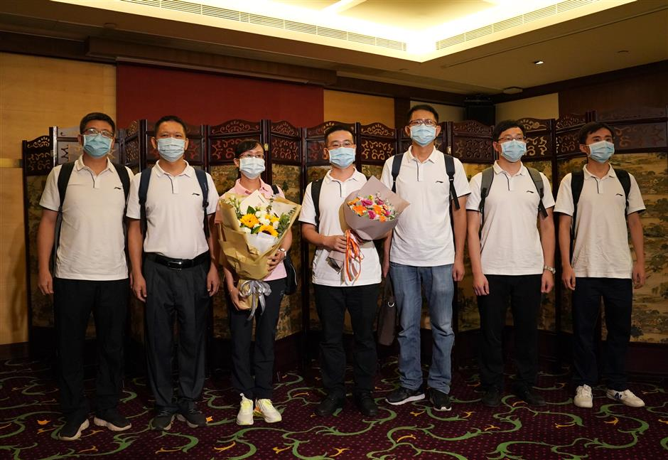 Mainland experts in Hong Kong to fight virus