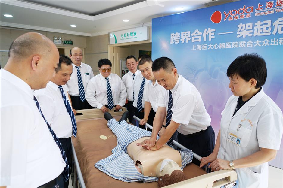Hospital offers CPR training to taxi drivers