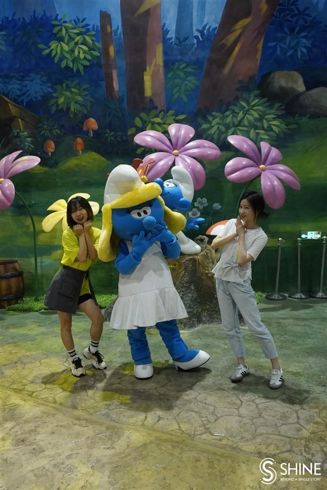 Check out Chinas first Smurfs Park in Songjiang