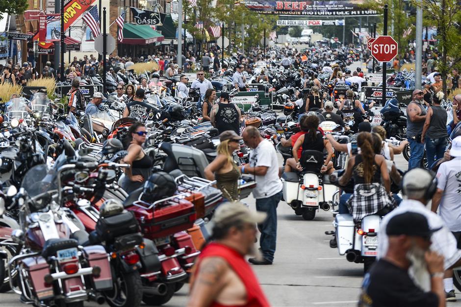 Defiant motorcyclists: God, guns and Trump