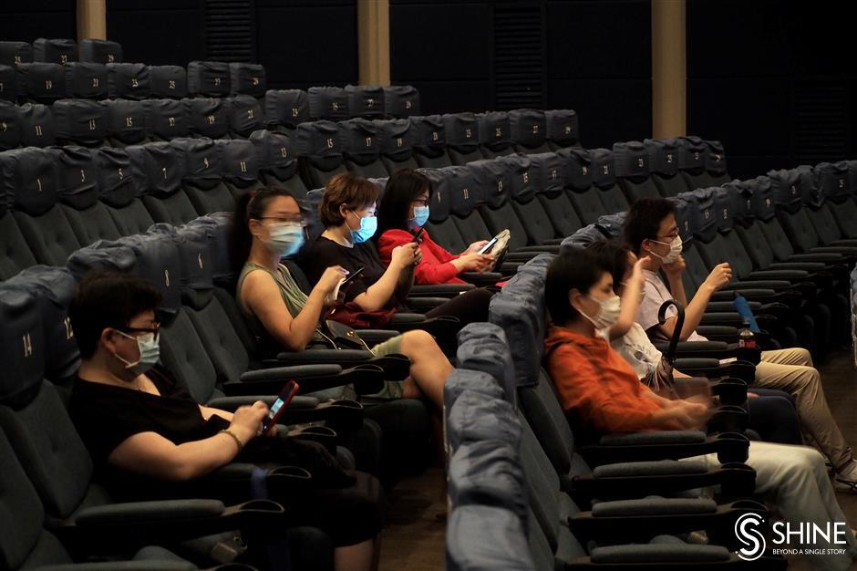 Shanghai relaxes restrictions on cinema audiences