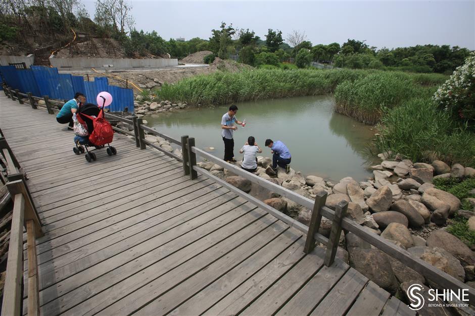 Yangtze waterfront set to open in October