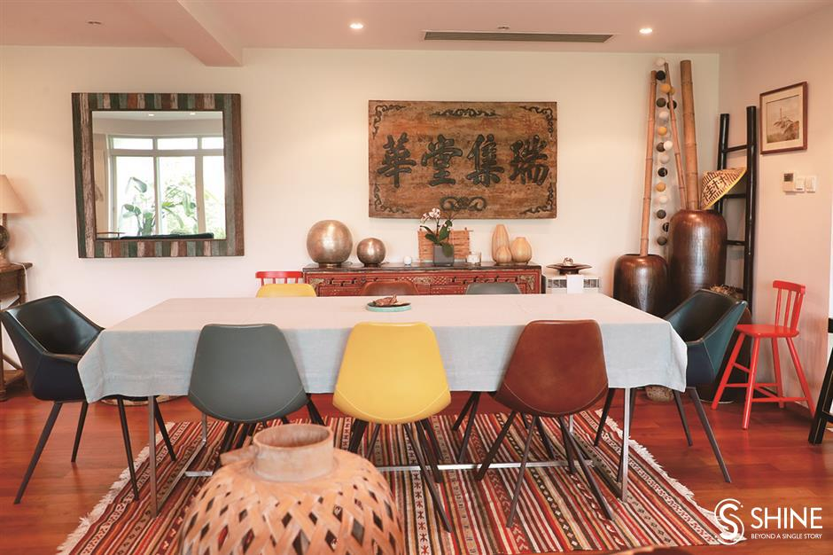 Eclectic mix of old versus new and East meets West