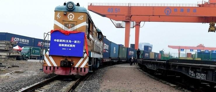 There is no pandemic to stop Chinas train on New Silk Road