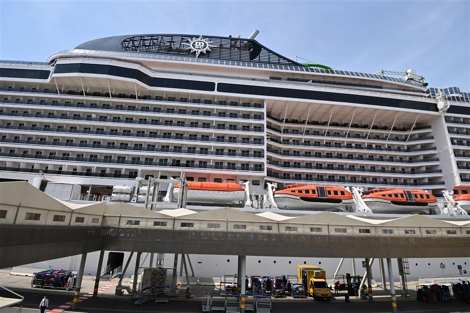 MSC Grandiosa departure sees cruise sector return in Europe