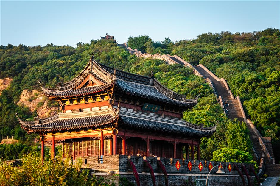 Blessed land beckons with pagodas and its own great wall