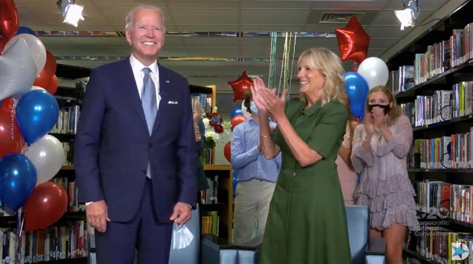 Biden formally nominated as Democratic candidate to challenge Trump