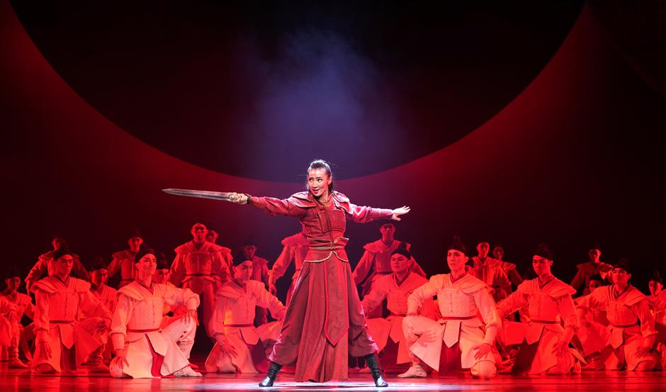 Mulan takes to stage in brand-new dance drama
