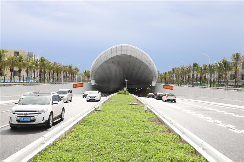 Shanghai company completes Hainan tunnel
