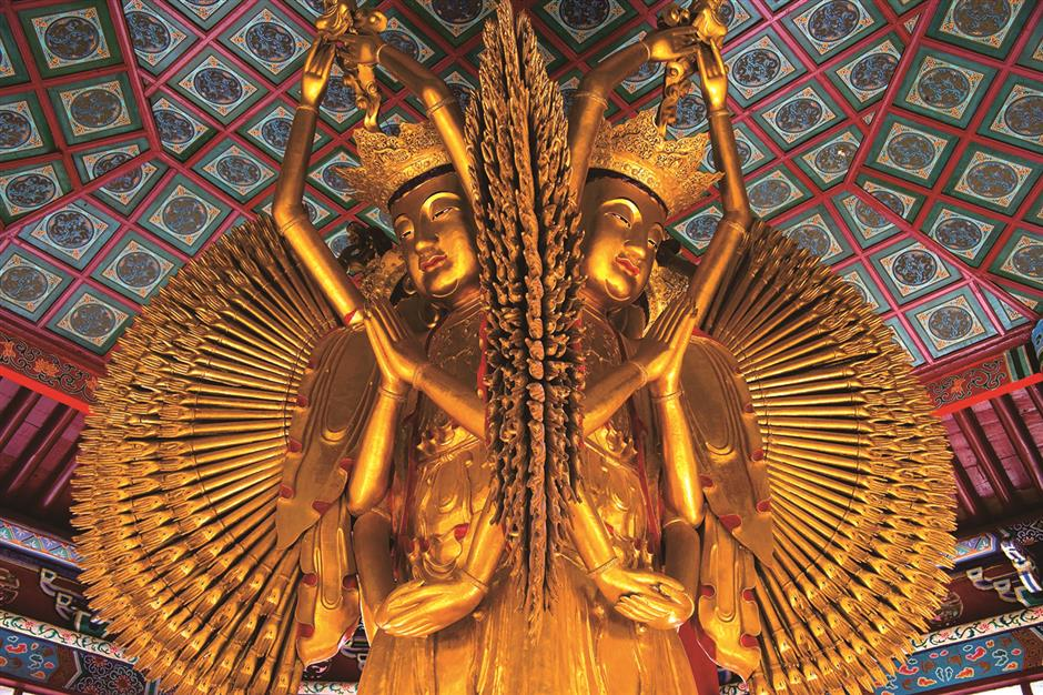 Daxiangguo Temples key role in developing Chinese Buddhism