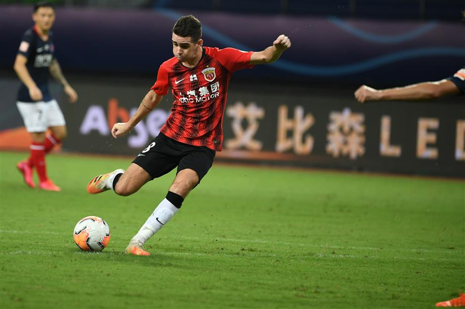 SIPG blanks Chongqing to extend lead in Group B