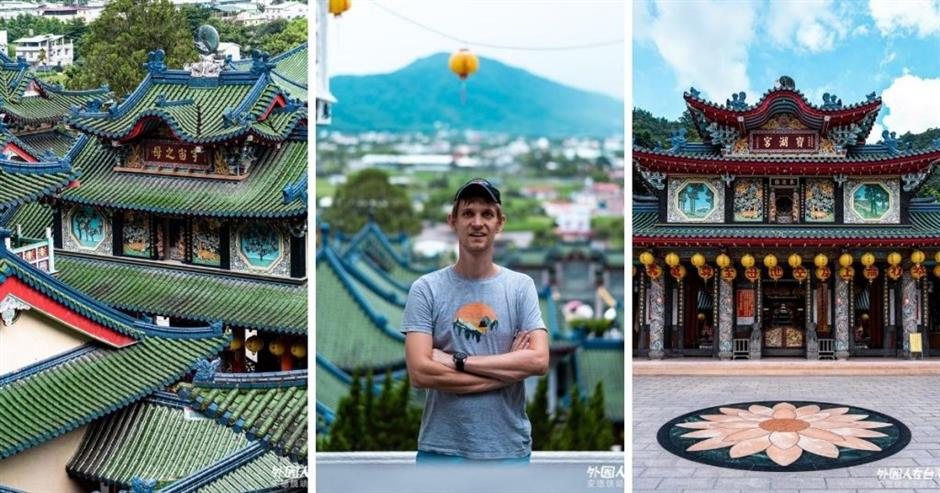 Discover the most #Instaworthy temple in central Taiwan