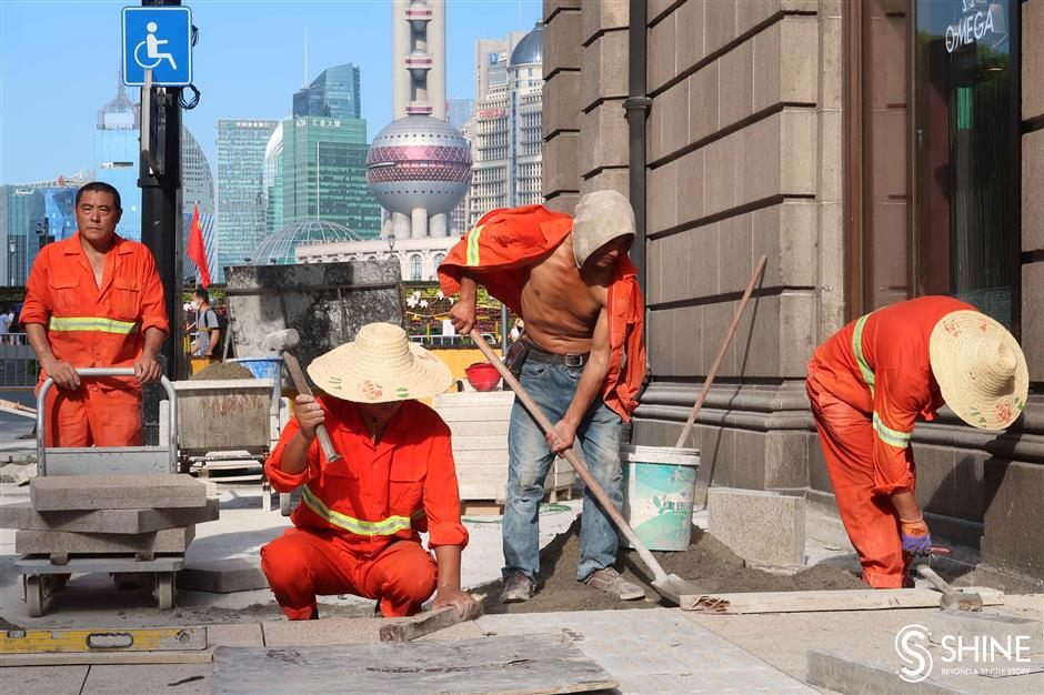 See whats new on the extended Nanjing Road E.
