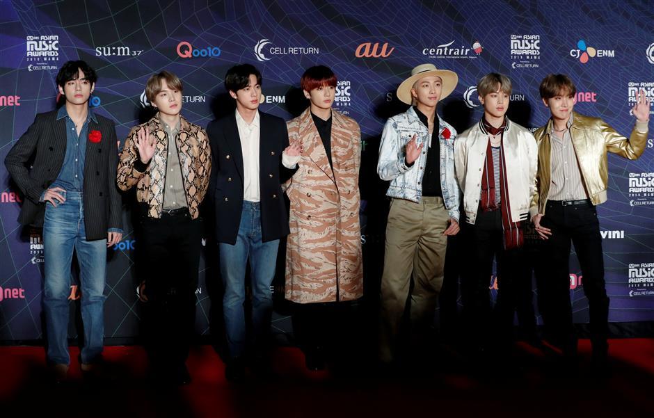 After blowing up Billboard chart, K-pop colossus BTS eyes Grammies Dynamite