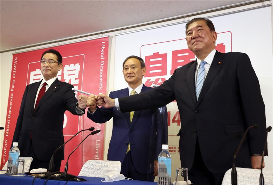 Favorite emerges in race for next Japans PM