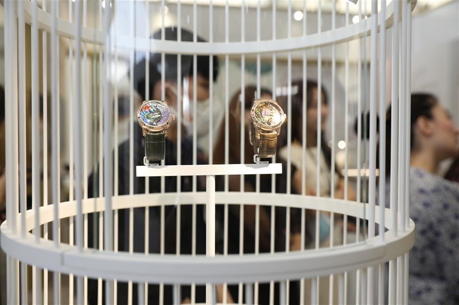 Luxury watch fair kicks off at West Bund
