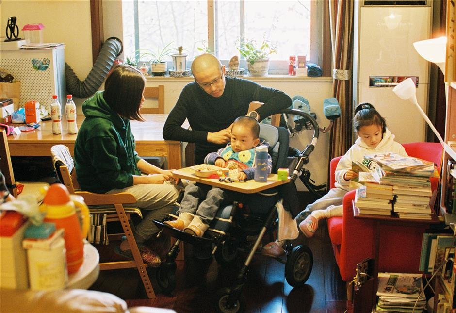 A race against time: Young boy and his family cope with rare disease