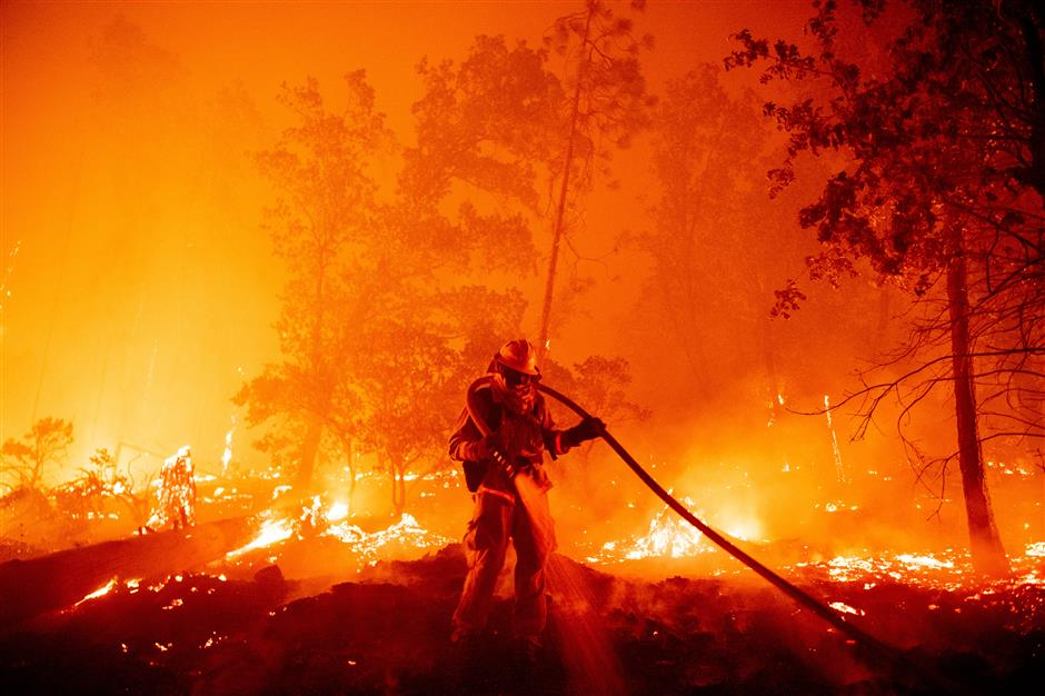 California fires: Wildfires burn through a record two million acres