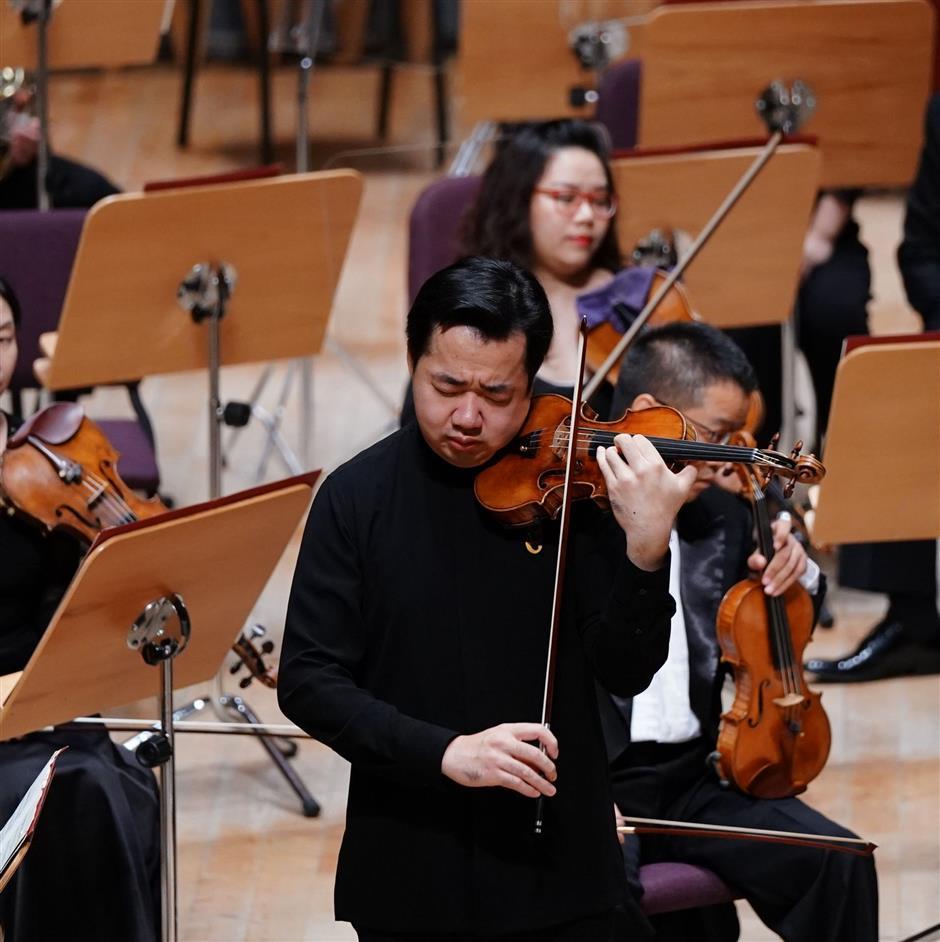 Vim and versatility of Chinas own virtuoso