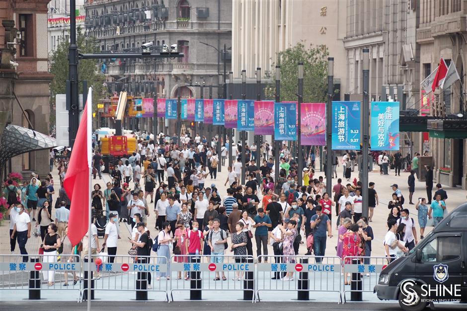 Pedestrian malls extension ready to open