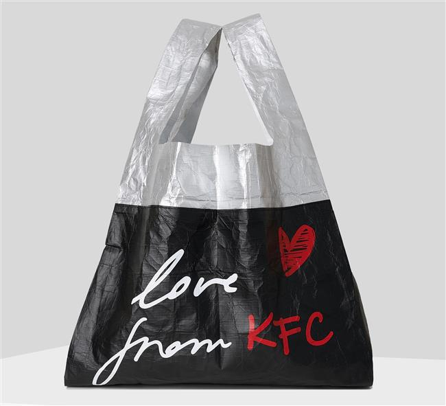 KFC, Karl Lagerfeld launch limited-edition bags