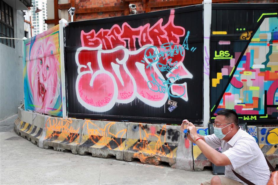 M50 campaign keeps graffiti tradition alive