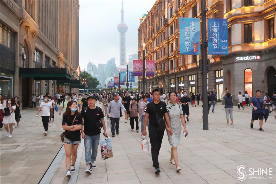 Now there is more of Nanjing Road Pedestrian Mall to love
