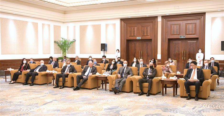 Party Secretary Li meets Latam & Caribbean envoys