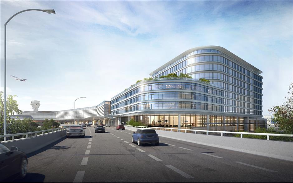 Renovations underway at Hongqiao airport