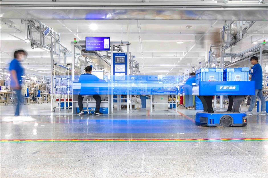 Alibabaunveils Hangzhou digital factory