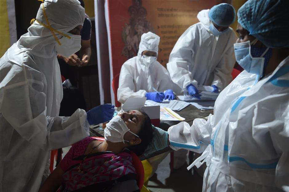 Indias COVID-19 cases hit grotesque level