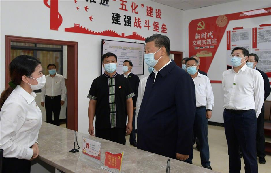 Xi stresses effectiveness of primary-level public services