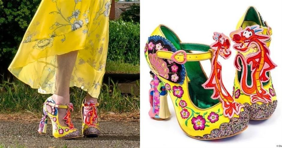 Mulan-inspired shoes mocked by social media users