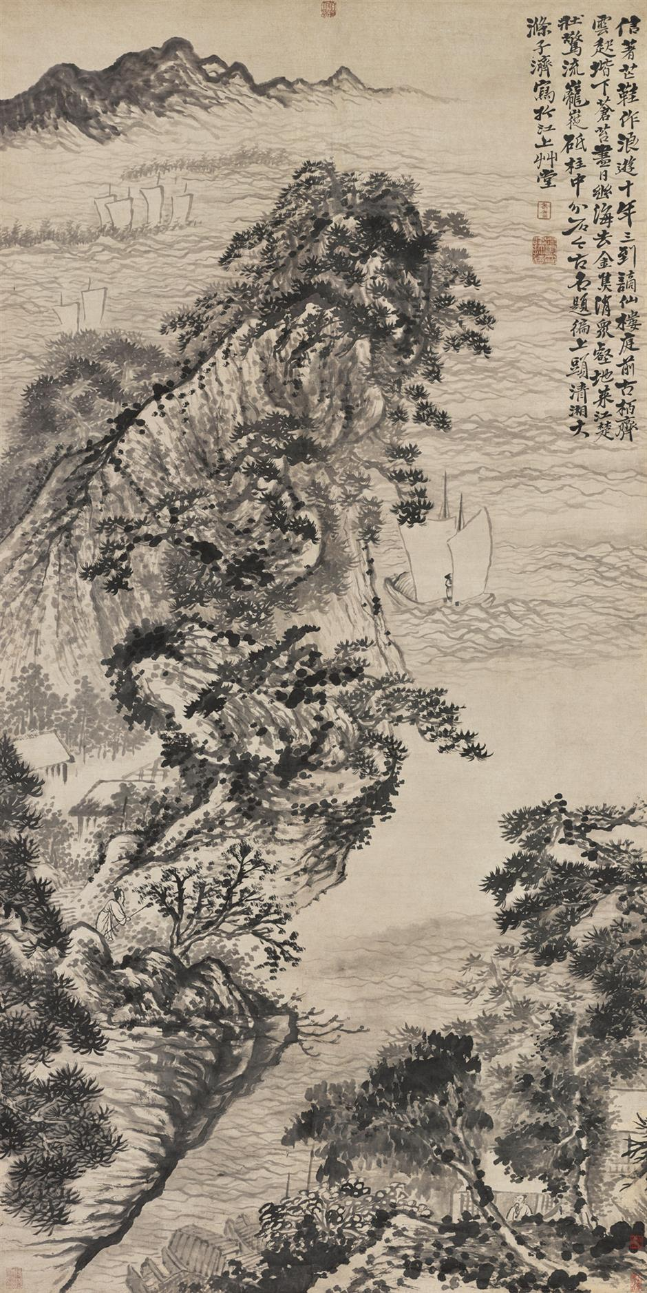Ink-wash paintings are highlight of Bowring Auction