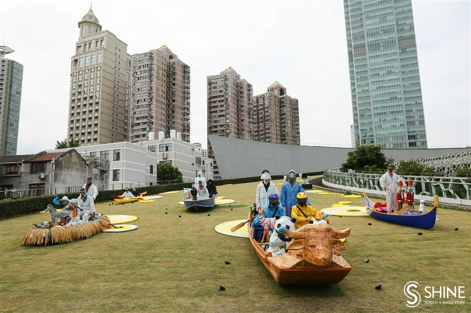 Sculpture festival takes art to the people