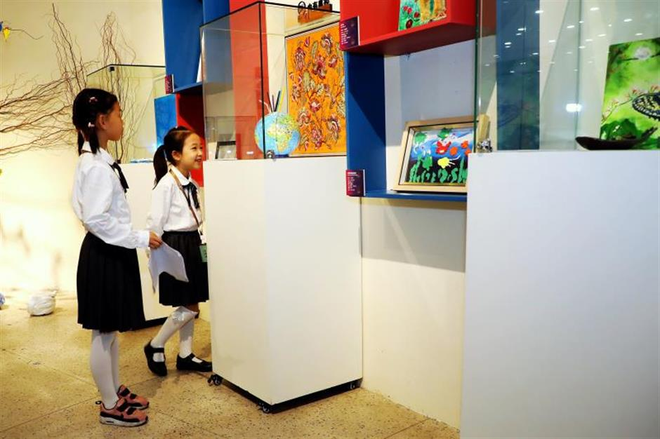 Teenagers art on show at city exhibition