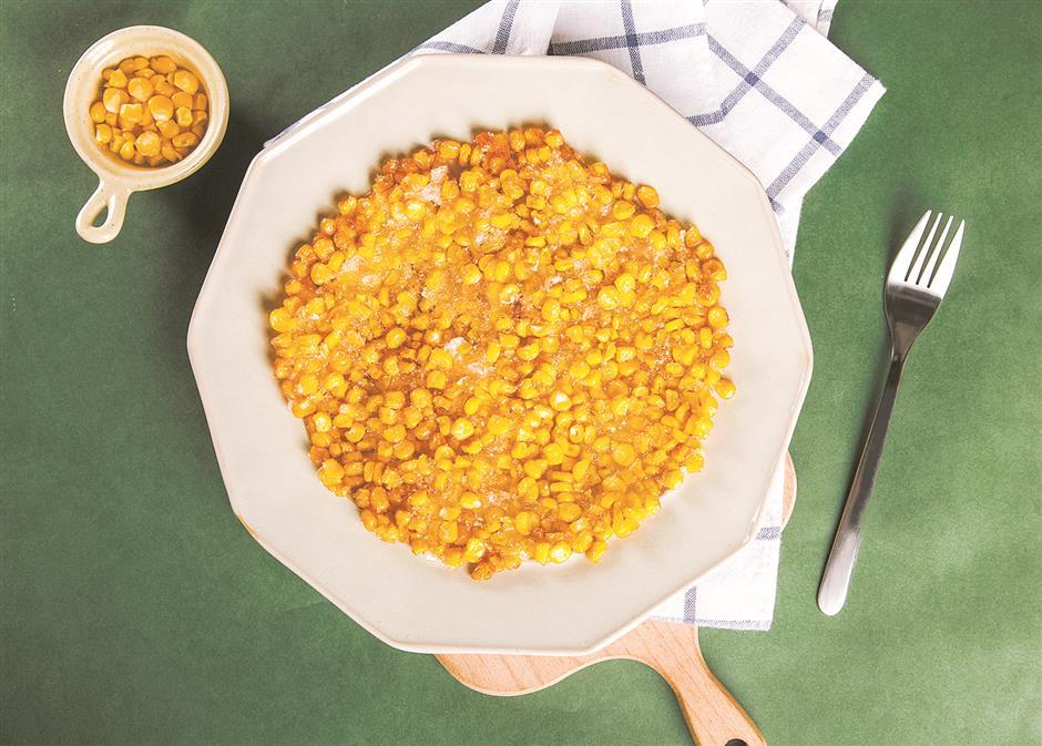 Nothing like the taste of fresh corn