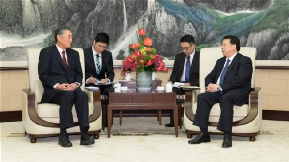 Mayor Gong Zheng meets Japanese ambassador