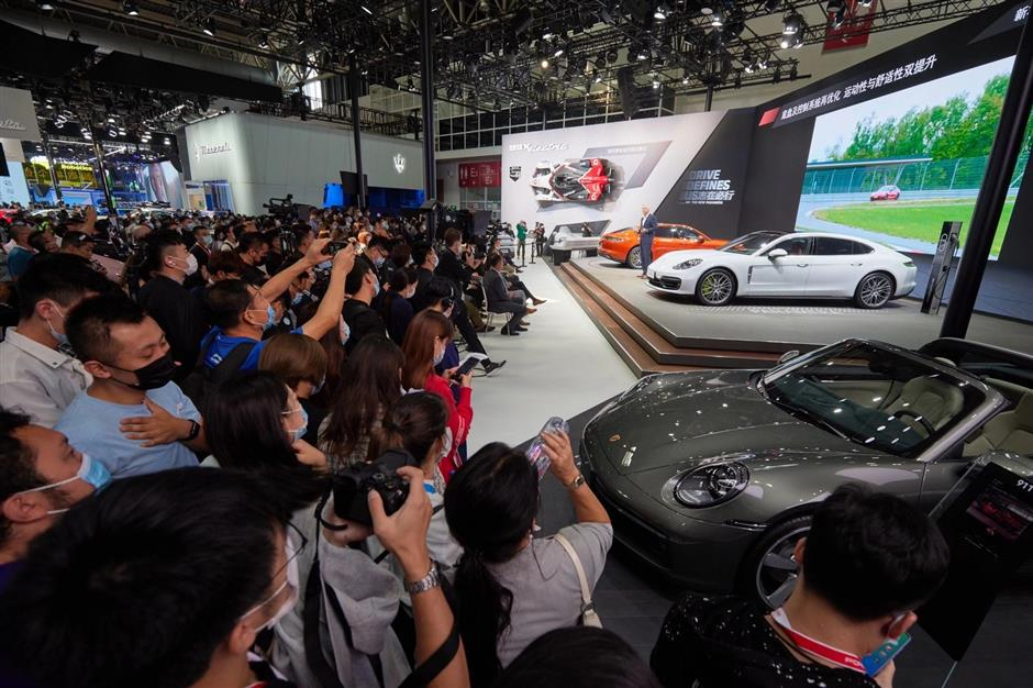 Beijing Automotive Exhibition revs up with new-energy vehicles